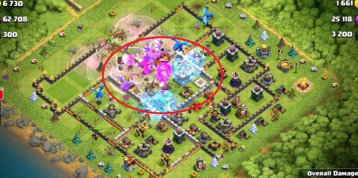 Town Hall 12 Attacks – Electro Dragon & Balloon Army